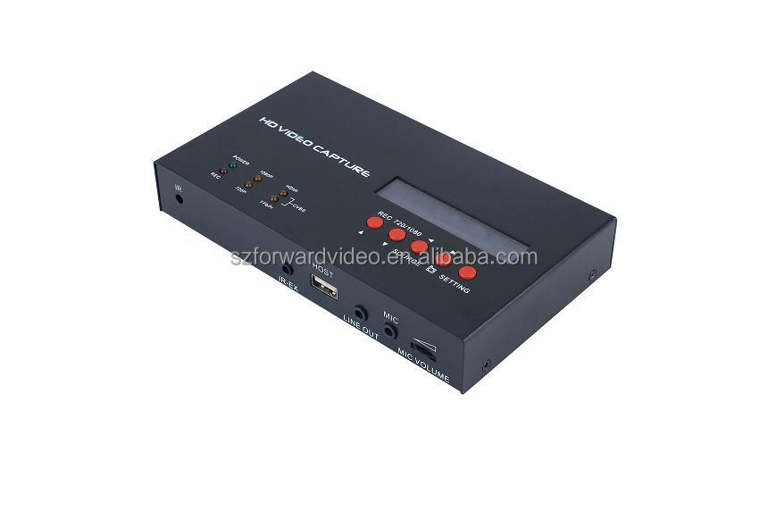 HD Video Capture With Video Input HDMI/YPbPr/CVBS and Schedule function recording