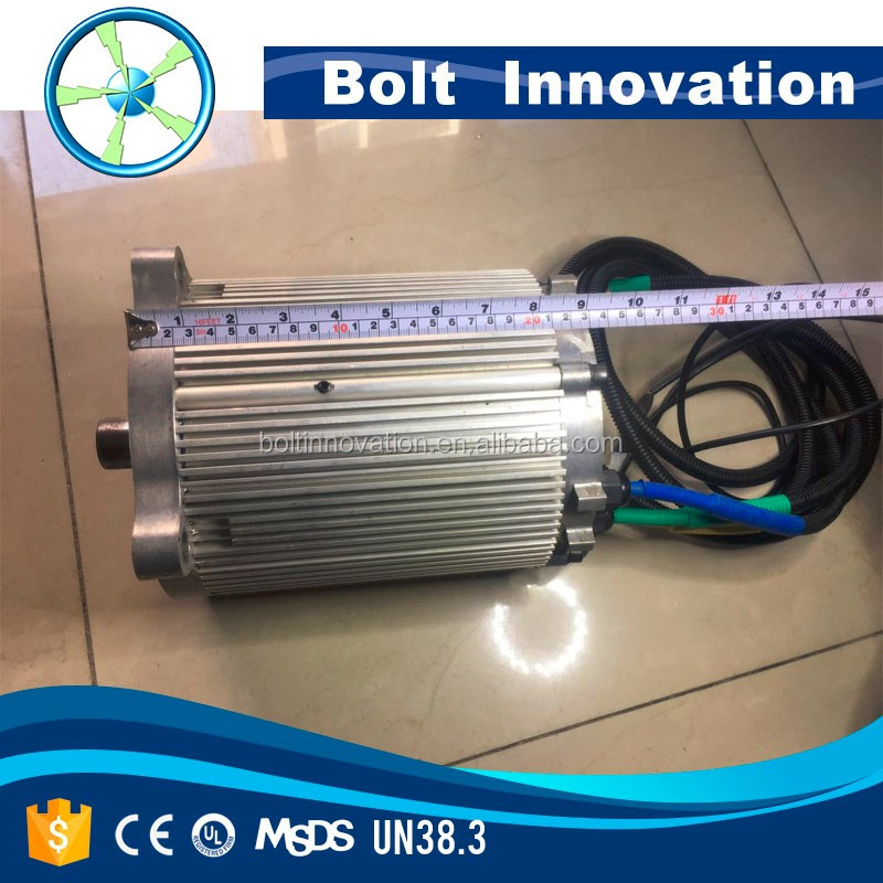 Permanent Magnent construction electric BLDC motor 30KW 72V for car conversition kits chinese factory hot sale