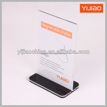 new style acrylic table menu display holder