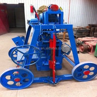 Small Electric egg laying brick making machine for sale