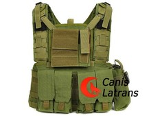 Tactical molle combat huelga plate carrier chaleco cl4-0007