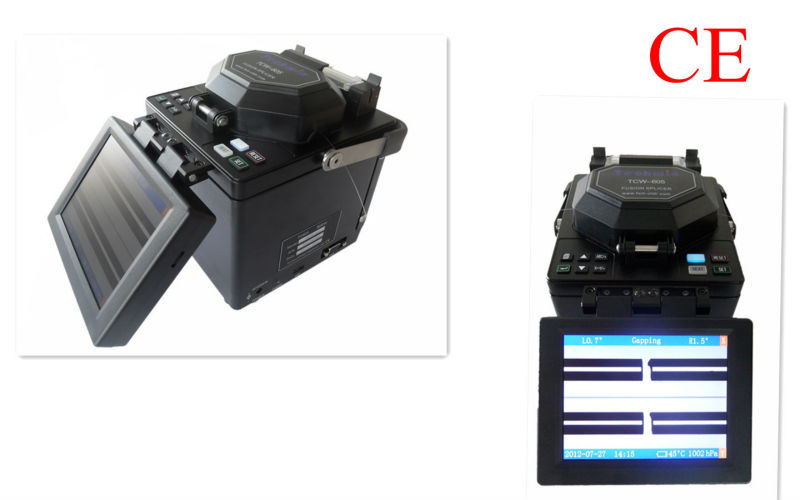 Digital Fiber Fusion Splicer TCW-605(by core)