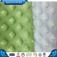 Bubble lattice super soft poly Velvet Fabric Price