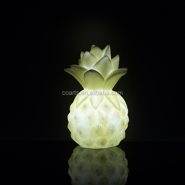 OEM ODM Baby mini pineapple Led night light for home decoration