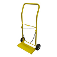 HT1418 carry Oxygen cylinder hand trolley with a chain