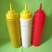 LDPE Household Top Quality Sauce Soft Touch Plastic Bottle