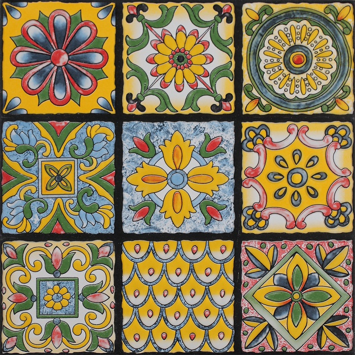 Cuban encaustic decoration cement tile