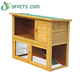 High Quality 2 Storey Rabbit Hutches Custom Pet Rabbit Cage Designs