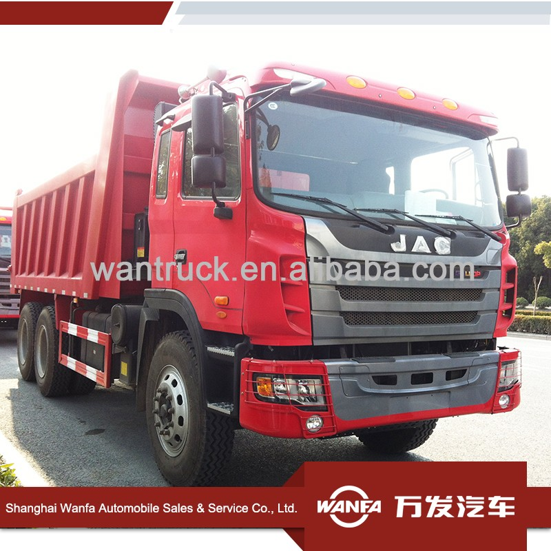 JAC 360HP 6x4 8 wheel tipper truck for sale
