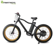 AIMOS 26*4.0 1000W big power Fat tire electric Mountain bike/Snow bike/electric bicycle with CE