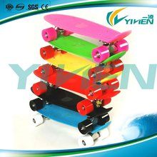 2012 new four pu wheel pp fish skateboard