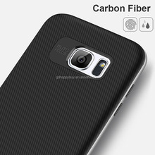 Soft TPU Carbon fiber phone case for samsung galaxy s8 case back cover