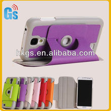 Hot-sale 360 Degree Rotating Wallet Stand Pouch For Galaxy s4