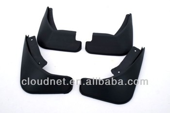 Black Mud Guard Mud Flap Splash Flap For Ford Fiesta Sedan