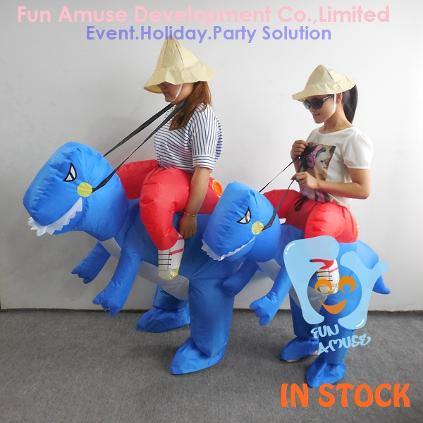 cheap man inflatable animal riding costume