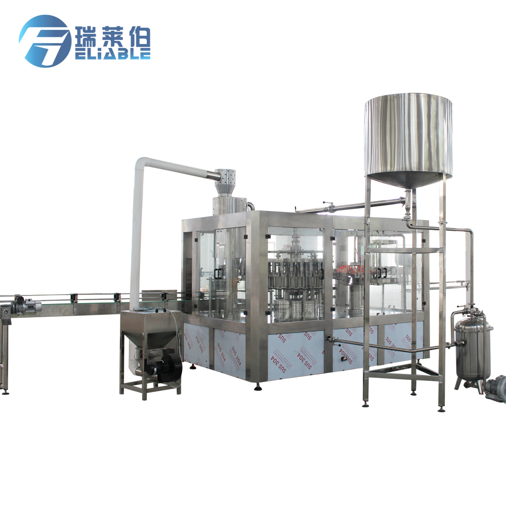 Full Automatic Bottle Fruit Juice Plant for Sale Fruit Juice Bottle Filling Machine