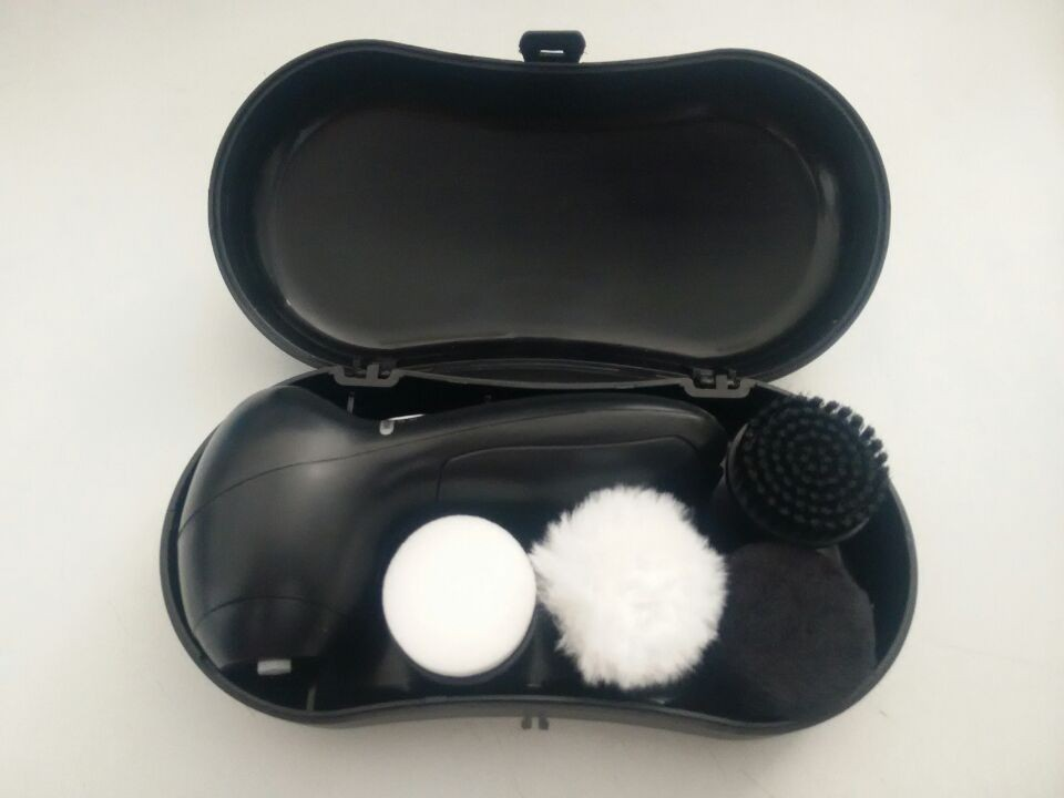 Quality Battery Operated Electrical Shoe Cleaner Polisher Brush Set