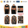 Free sample China Supplier Sublimation Printed Custom Tank Top Men