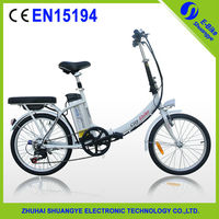 "48v/36v lithium battery 20"" electric motor bicycle"