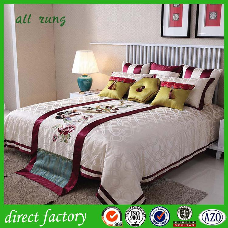 Village dubai bed cover set home textile