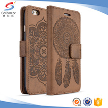 TPU+leather flip phone case for samsung galaxy s8 wallet case