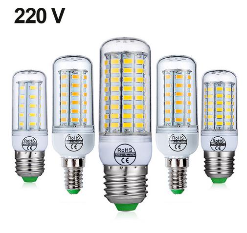 LED light E27 LED Lamp E14 LED Bulb 220V Corn Bulb 3w 5w 7w 9w 12w 15w Chandelier Candle LED Light For Home