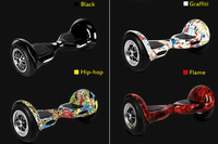Made-In-China 10 Inch Electric Self Balancing Skateboard with Big Wheels
