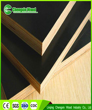 Good quality poplar/pine hard wood black/brown film faced plywood with low price