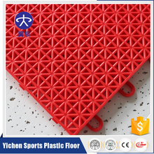Top Sales Waterproof Outdoor PP Interlocking Tile Flooring Used In Basketball Court Floor