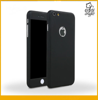 360 Degree Full Body Front Back Clear PC Case Cover For Iphone 6S Plus
