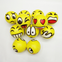 Educational baby shower party soft toy emoji beach baby ball for sale