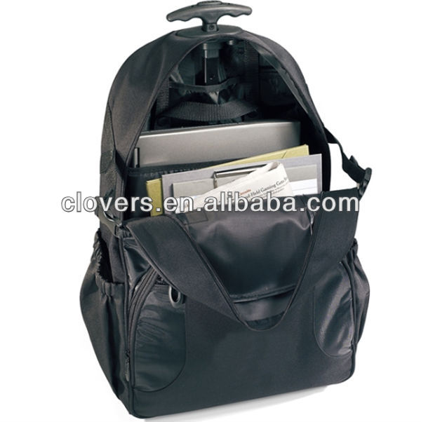 Big compartments Laptop Bag Trolley for fast trip