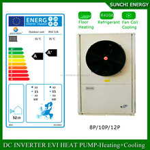 R410A Commercial Heat Pump Water Heater for heating cooling