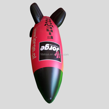 High quality PVC inflatable bomb toy for advertising