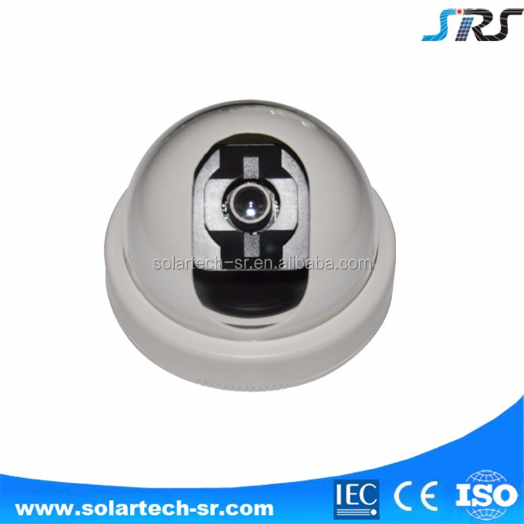 Hot selling 6m high CCTV solar ip camera with led street light hidden led camera light