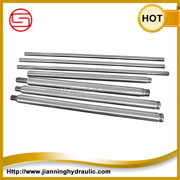 Best quality equipments hard polished and chrome plated cylinder piston rod,hard chrome plated piston rod