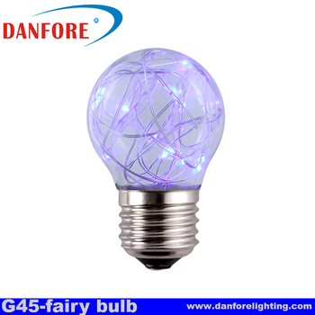 G45 Fairy led string light for holiday decoration in Amazon hot selling