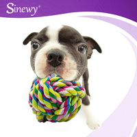Colourful Training Promotional Dog Chew Rope Toy