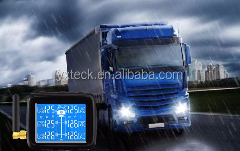 Manufacturer High Sensitive tyre pressure monitors wireless tire pressure monitoring system for truck