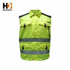 High quality lightweight Design mens work vest