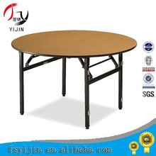 Folding Round Wooden Wedding Table