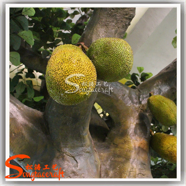 Large artificial decorative tree indoor decor tropical for Fruit trees for sale