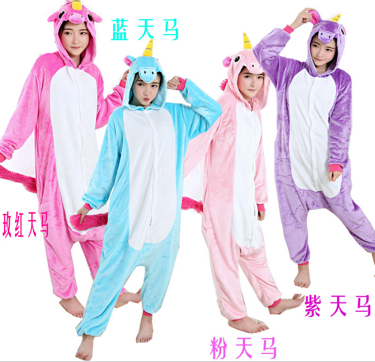 Wholesale fast delivery cheap animal pajamas onesie in low price soft flannel children and adult cheap animal pajamas