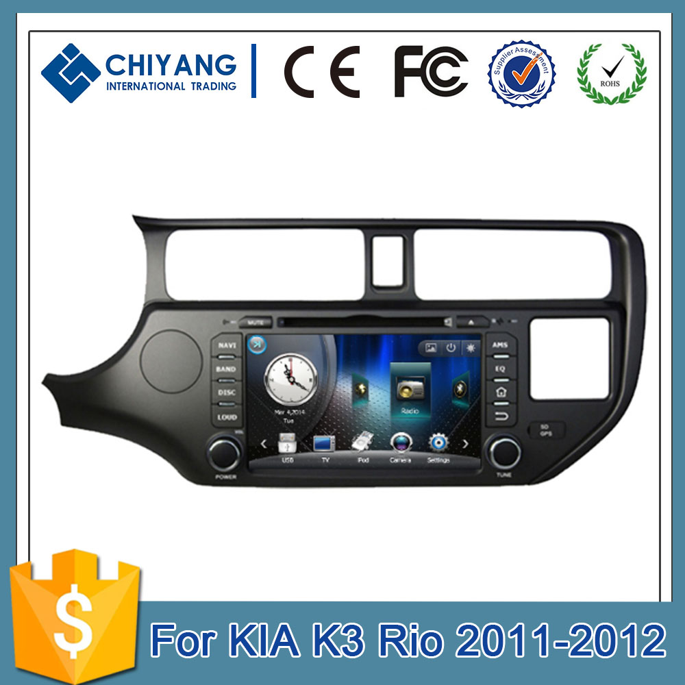 car gps navigation GPS Tracker GPRS Tracking System with 3 Sensors at the same time for KIAK3 Rio 2011-2012