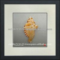 38026-Seashell--Susho, King Silk Art 100% Handmade Silk Embroidery