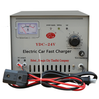 Customized Dc Output 24V Electric Car Battery Charger
