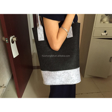 Alibaba China Laser Cutting felt women handbag leisure bag for promotion