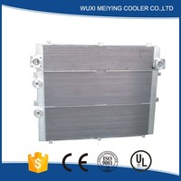 Professional air compressor rotary screw type oil cooler-heat exchanger