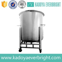 High quality stainless steel cylindrical water tank