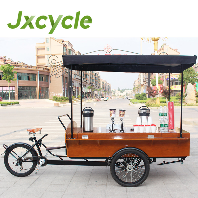 Electric mobile food carts coffee bike for sale buy for Motorized carts for sale